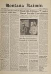 Montana Kaimin, October 25, 1961