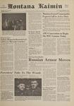 Montana Kaimin, October 27, 1961