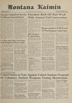 Montana Kaimin, November 1, 1961