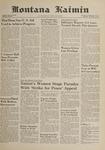 Montana Kaimin, November 2, 1961