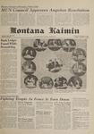 Montana Kaimin, November 7, 1961
