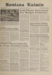Montana Kaimin, November 8, 1961