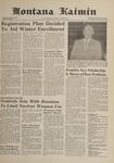 Montana Kaimin, November 15, 1961