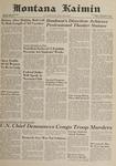 Montana Kaimin, November 17, 1961