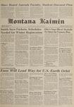 Montana Kaimin, November 29, 1961