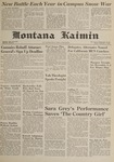 Montana Kaimin, December 1, 1961