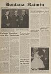 Montana Kaimin, December 5, 1961