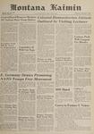 Montana Kaimin, December 7, 1961