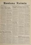 Montana Kaimin, January 11, 1962