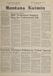 Montana Kaimin, January 12, 1962