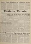 Montana Kaimin, January 17, 1962