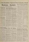 Montana Kaimin, January 19, 1962