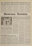 Montana Kaimin, January 25, 1962