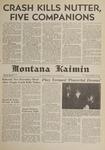 Montana Kaimin, January 26, 1962