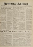 Montana Kaimin, January 31, 1962