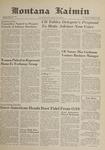 Montana Kaimin, February 1, 1962