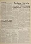 Montana Kaimin, February 8, 1962