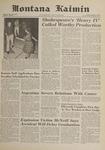Montana Kaimin, February 9, 1962