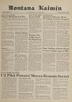 Montana Kaimin, February 13, 1962