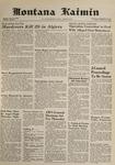 Montana Kaimin, February 27, 1962