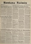 Montana Kaimin, March 1, 1962