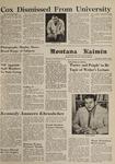 Montana Kaimin, March 7, 1962