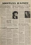 Montana Kaimin, March 29, 1962