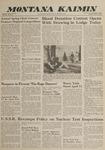 Montana Kaimin, April 3, 1962