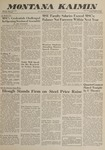 Montana Kaimin, April 13, 1962