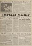 Montana Kaimin, April 19, 1962