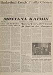 Montana Kaimin, April 20, 1962