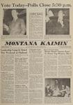 Montana Kaimin, April 25, 1962