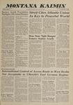 Montana Kaimin, May 8, 1962