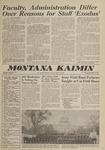 Montana Kaimin, May 9, 1962