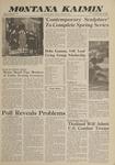 Montana Kaimin, May 15, 1962