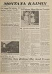 Montana Kaimin, May 17, 1962