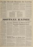 Montana Kaimin, May 18, 1962