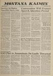 Montana Kaimin, May 22, 1962