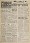 Montana Kaimin, May 31, 1962