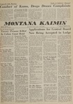 Montana Kaimin, October 11, 1962