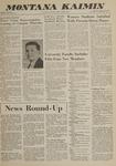 Montana Kaimin, October 16, 1962