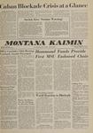Montana Kaimin, October 23, 1962