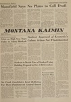 Montana Kaimin, October 24, 1962