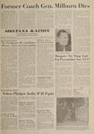 Montana Kaimin, October 26, 1962