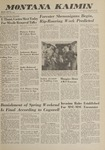 Montana Kaimin, October 30, 1962