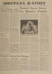 Montana Kaimin, October 31, 1962