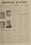 Montana Kaimin, November 1, 1962