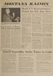 Montana Kaimin, December 7, 1962
