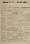 Montana Kaimin, December 11, 1962