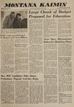 Montana Kaimin, January 10, 1963
